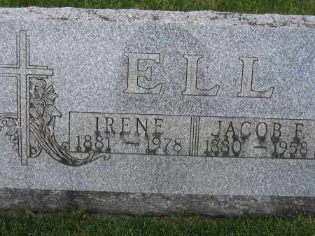 ELL, IRENE - Union County, Ohio | IRENE ELL - Ohio Gravestone Photos