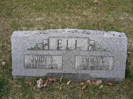 ELL, JOHN S. - Union County, Ohio | JOHN S. ELL - Ohio Gravestone Photos