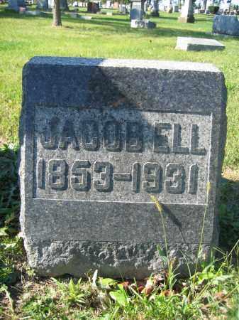ELL, JACOB - Union County, Ohio   JACOB ELL - Ohio Gravestone Photos