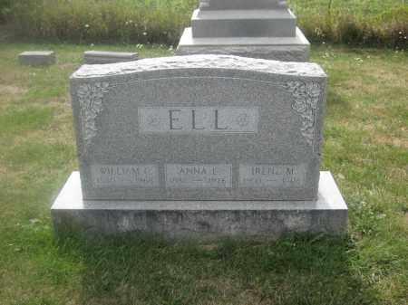 ELL, WILLIAM C. - Union County, Ohio   WILLIAM C. ELL - Ohio Gravestone Photos