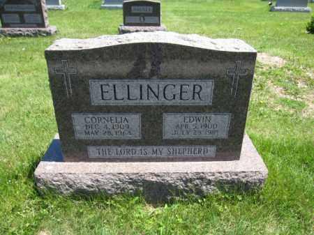 ELLINGER, EDWIN - Union County, Ohio | EDWIN ELLINGER - Ohio Gravestone Photos