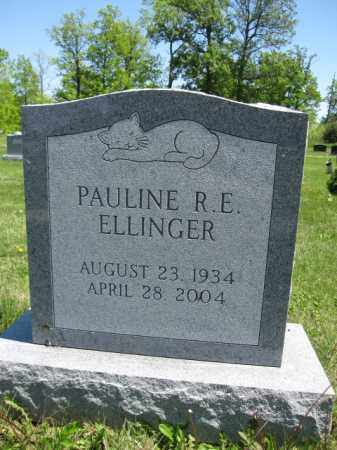 ELLINGER, PAULINE R.E. - Union County, Ohio | PAULINE R.E. ELLINGER - Ohio Gravestone Photos