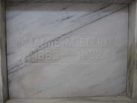 ELLIOT, MAMIE M. MCCLOUD - Union County, Ohio   MAMIE M. MCCLOUD ELLIOT - Ohio Gravestone Photos
