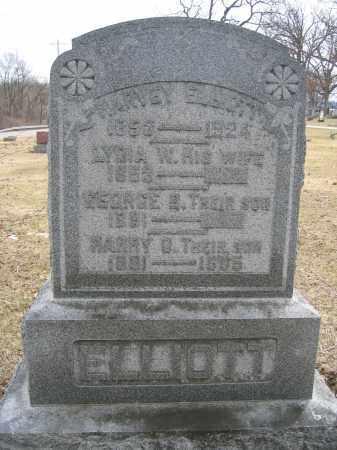 ELLIOTT, GEORGE B. - Union County, Ohio | GEORGE B. ELLIOTT - Ohio Gravestone Photos