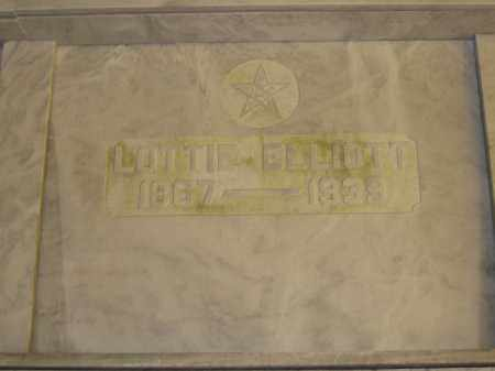ELLIOTT, LOTTIE - Union County, Ohio | LOTTIE ELLIOTT - Ohio Gravestone Photos
