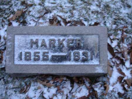 ELLIOTT, MARKER - Union County, Ohio   MARKER ELLIOTT - Ohio Gravestone Photos
