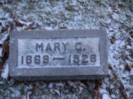 WOOD ELLIOTT, MARY CATHERINE - Union County, Ohio | MARY CATHERINE WOOD ELLIOTT - Ohio Gravestone Photos