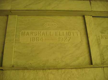 ELLIOTT, MARSHALL - Union County, Ohio | MARSHALL ELLIOTT - Ohio Gravestone Photos