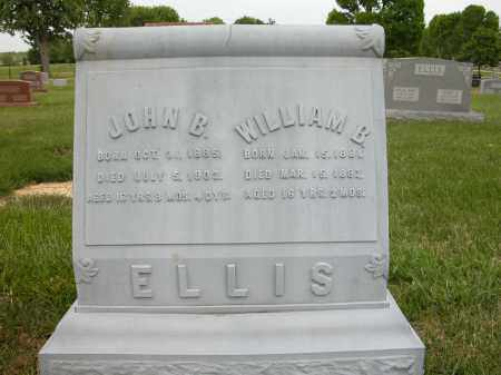 ELLIS, WILLIAM B. - Union County, Ohio | WILLIAM B. ELLIS - Ohio Gravestone Photos