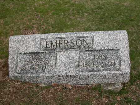 EMERSON, PHEBE TOWNSEND - Union County, Ohio   PHEBE TOWNSEND EMERSON - Ohio Gravestone Photos