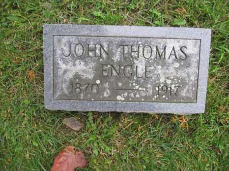 ENGLE, JOHN THOMAS - Union County, Ohio   JOHN THOMAS ENGLE - Ohio Gravestone Photos