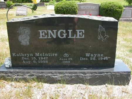 ENGLE, KATHRYN MCINTIRE - Union County, Ohio | KATHRYN MCINTIRE ENGLE - Ohio Gravestone Photos