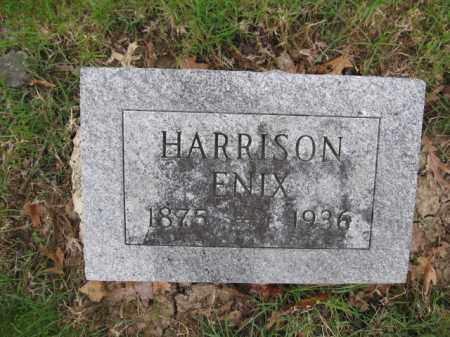 ENIX, HARRISON - Union County, Ohio   HARRISON ENIX - Ohio Gravestone Photos