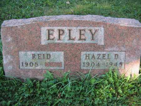 EPLEY, REID - Union County, Ohio | REID EPLEY - Ohio Gravestone Photos
