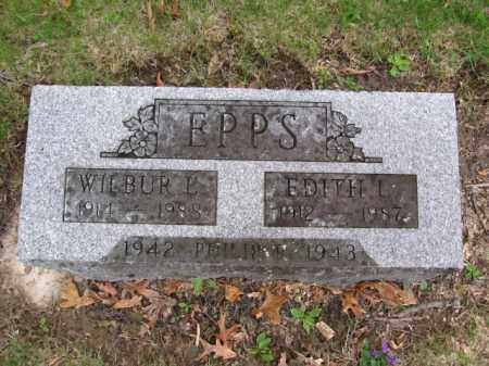 EPPS, WILBUR E. - Union County, Ohio | WILBUR E. EPPS - Ohio Gravestone Photos