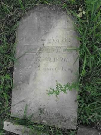 ERWIN, HARRIET - Union County, Ohio   HARRIET ERWIN - Ohio Gravestone Photos