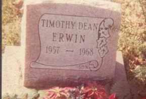 ERWIN, TIMOTHY DEAN - Union County, Ohio   TIMOTHY DEAN ERWIN - Ohio Gravestone Photos