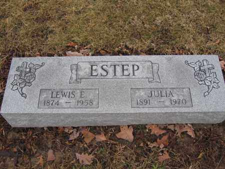 ESTEP, JULIA - Union County, Ohio | JULIA ESTEP - Ohio Gravestone Photos