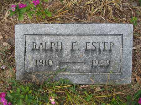 ESTEP, RALPH E. - Union County, Ohio | RALPH E. ESTEP - Ohio Gravestone Photos