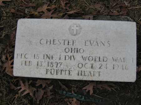 EVANS, CHESTER - Union County, Ohio | CHESTER EVANS - Ohio Gravestone Photos