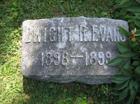EVANS, DWIGHT R. - Union County, Ohio   DWIGHT R. EVANS - Ohio Gravestone Photos