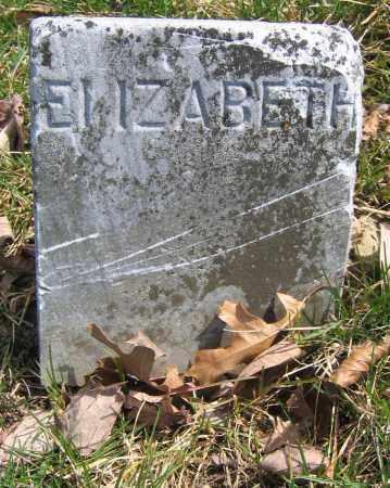 EVANS, ELIZABETH - Union County, Ohio | ELIZABETH EVANS - Ohio Gravestone Photos