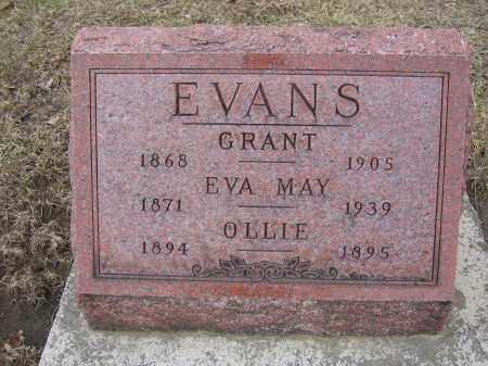 EVANS, GRANT - Union County, Ohio | GRANT EVANS - Ohio Gravestone Photos
