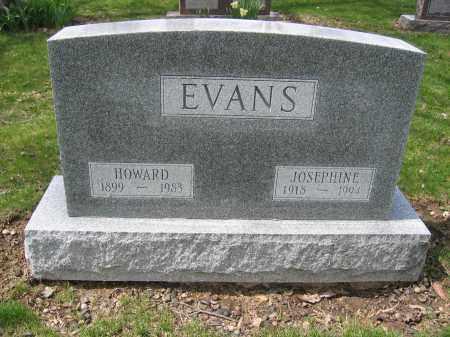 EVANS, HOWARD - Union County, Ohio   HOWARD EVANS - Ohio Gravestone Photos