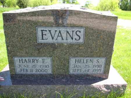 EVANS, HARRY E. - Union County, Ohio | HARRY E. EVANS - Ohio Gravestone Photos
