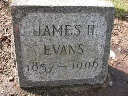EVANS, JAMES H - Union County, Ohio   JAMES H EVANS - Ohio Gravestone Photos