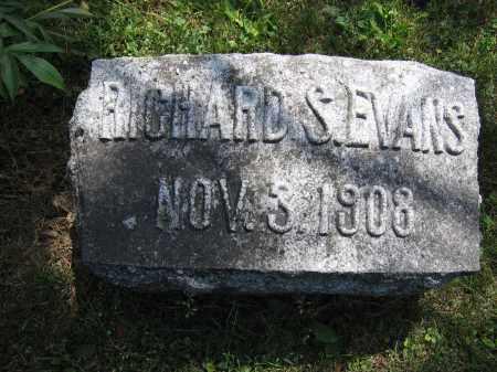 EVANS, RICHARD S. - Union County, Ohio   RICHARD S. EVANS - Ohio Gravestone Photos