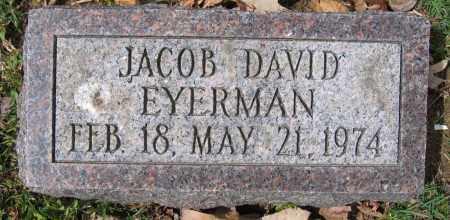 EYERMAN, JACOB DAVID - Union County, Ohio   JACOB DAVID EYERMAN - Ohio Gravestone Photos