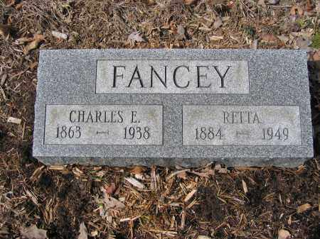 FANCEY, RETTA - Union County, Ohio   RETTA FANCEY - Ohio Gravestone Photos