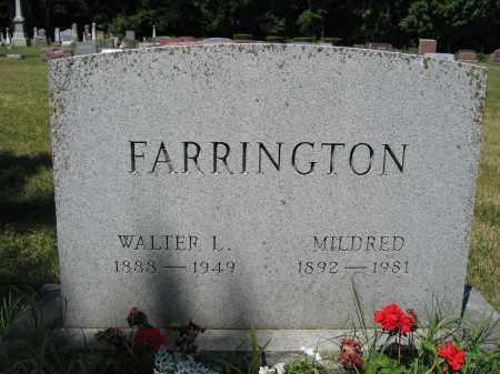 FARRINGTON, MILDRED - Union County, Ohio | MILDRED FARRINGTON - Ohio Gravestone Photos