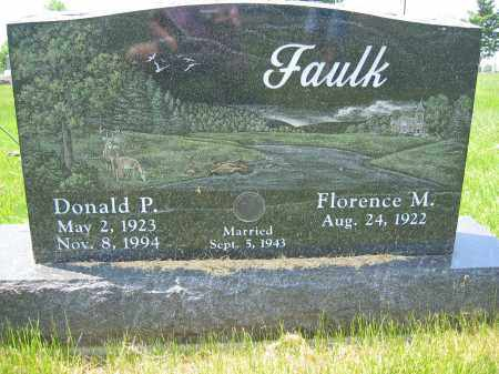 FAULK, DONALD PARKER - Union County, Ohio | DONALD PARKER FAULK - Ohio Gravestone Photos