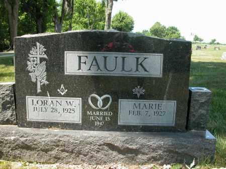 FAULK, MARIE - Union County, Ohio   MARIE FAULK - Ohio Gravestone Photos