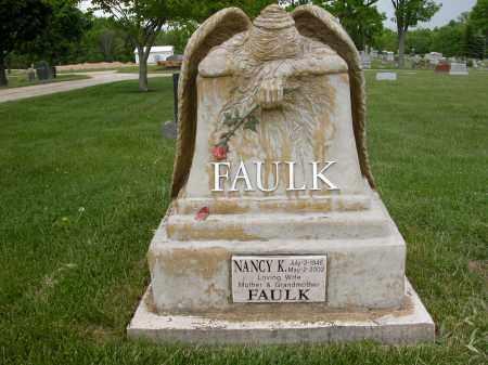 FAULK, NANCY K. - Union County, Ohio | NANCY K. FAULK - Ohio Gravestone Photos
