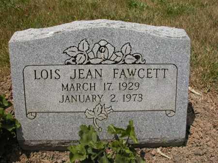 FAWCETT, LOIS JEAN - Union County, Ohio | LOIS JEAN FAWCETT - Ohio Gravestone Photos