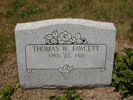 FAWCETT, THOMAS W. - Union County, Ohio | THOMAS W. FAWCETT - Ohio Gravestone Photos