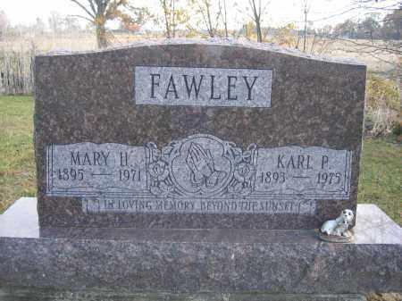 FAWLEY, KARL P. - Union County, Ohio | KARL P. FAWLEY - Ohio Gravestone Photos