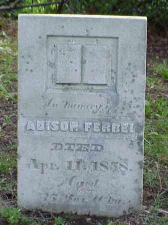 FERREE, ADISON - Union County, Ohio   ADISON FERREE - Ohio Gravestone Photos