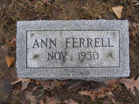 FERRELL, ANN - Union County, Ohio | ANN FERRELL - Ohio Gravestone Photos