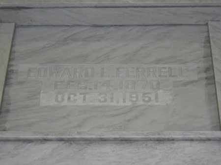 FERRELL, EDWARD L. - Union County, Ohio | EDWARD L. FERRELL - Ohio Gravestone Photos