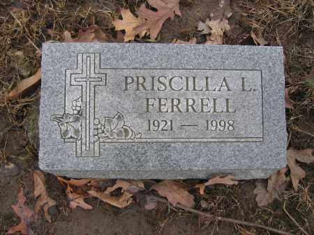 FERRELL, PRISCILLA L. - Union County, Ohio | PRISCILLA L. FERRELL - Ohio Gravestone Photos