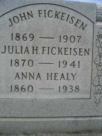 FICKEISEN, JOHN - Union County, Ohio | JOHN FICKEISEN - Ohio Gravestone Photos