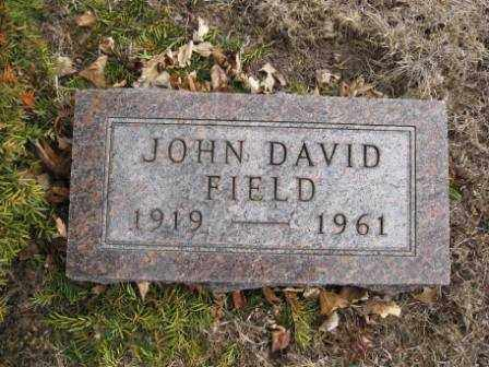 FIELD, JOHN DAVID - Union County, Ohio   JOHN DAVID FIELD - Ohio Gravestone Photos