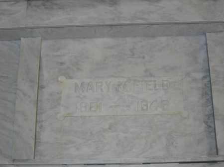 FIELD, MARY M. - Union County, Ohio | MARY M. FIELD - Ohio Gravestone Photos