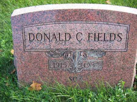 FIELDS, DONALD C. - Union County, Ohio | DONALD C. FIELDS - Ohio Gravestone Photos