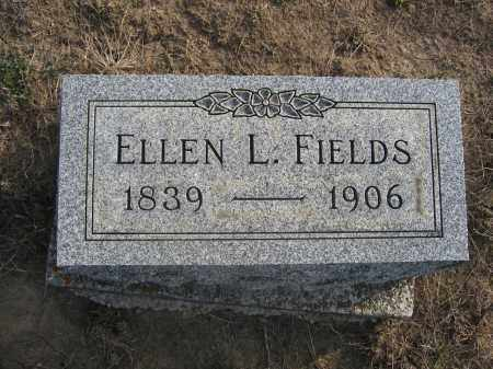 FIELDS, ELLEN L. - Union County, Ohio | ELLEN L. FIELDS - Ohio Gravestone Photos
