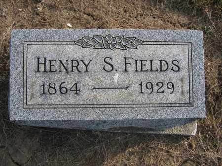 FIELDS, HENRY S. - Union County, Ohio | HENRY S. FIELDS - Ohio Gravestone Photos